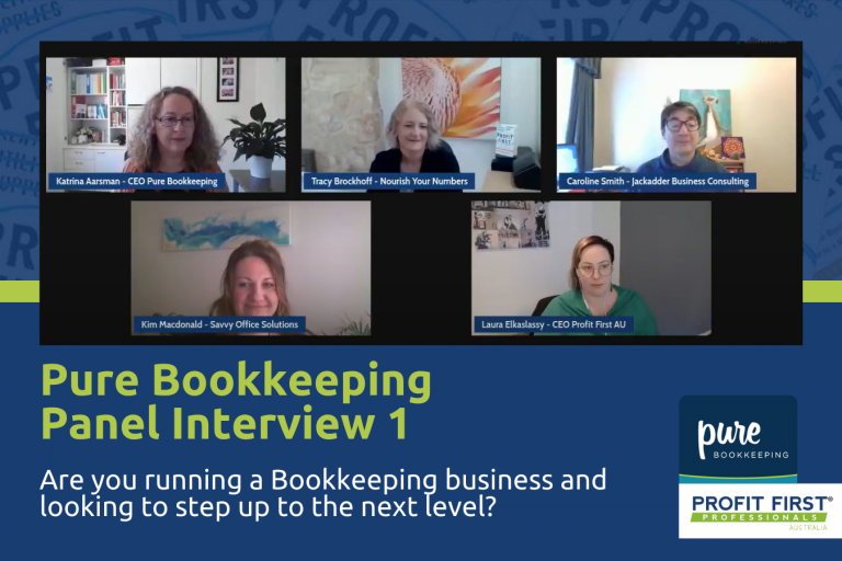 Pure Bookkeeping Panel 1