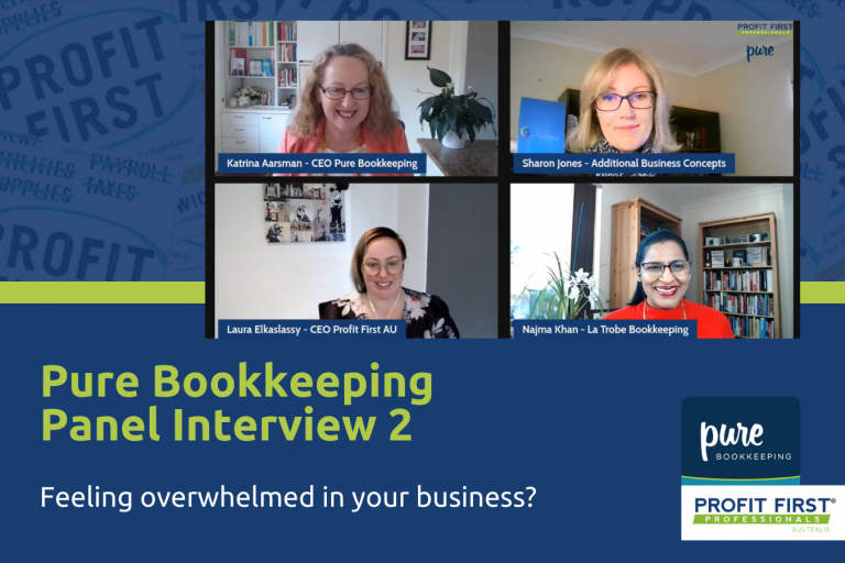 Pure bookkeeping panel 2