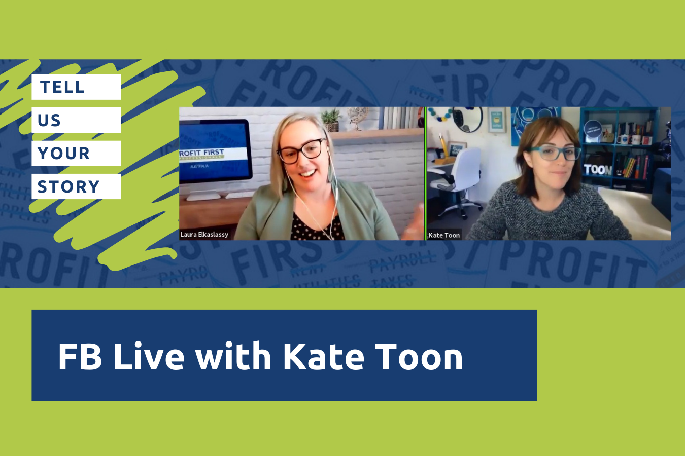 FB LIve with Kate Toon