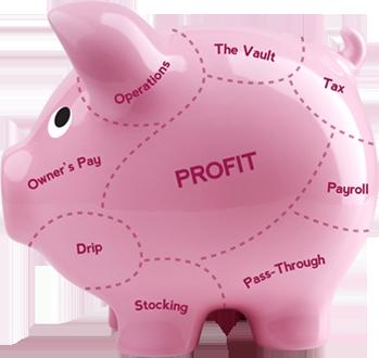 Profit First Piggy Bank